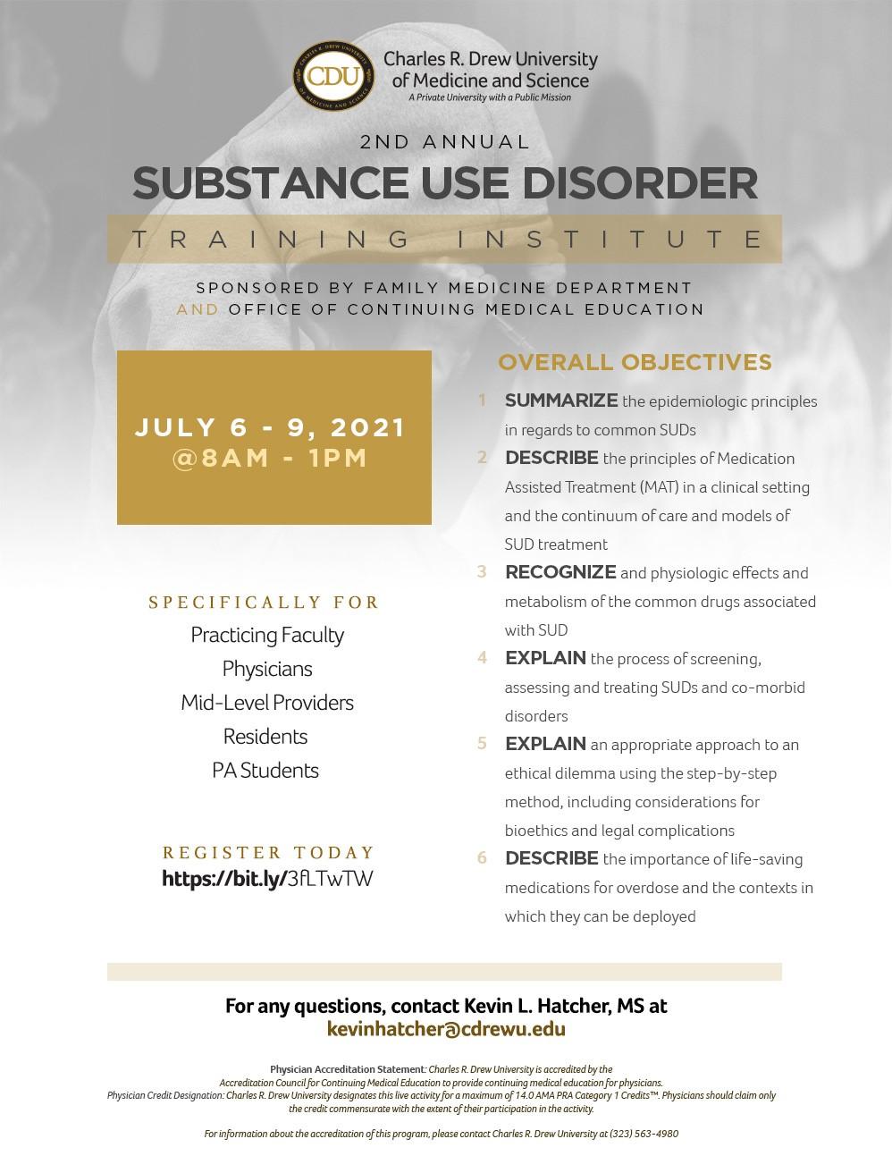 Viện đào tạo về rối loạn sử dụng chất gây nghiện hàng năm lần thứ 2