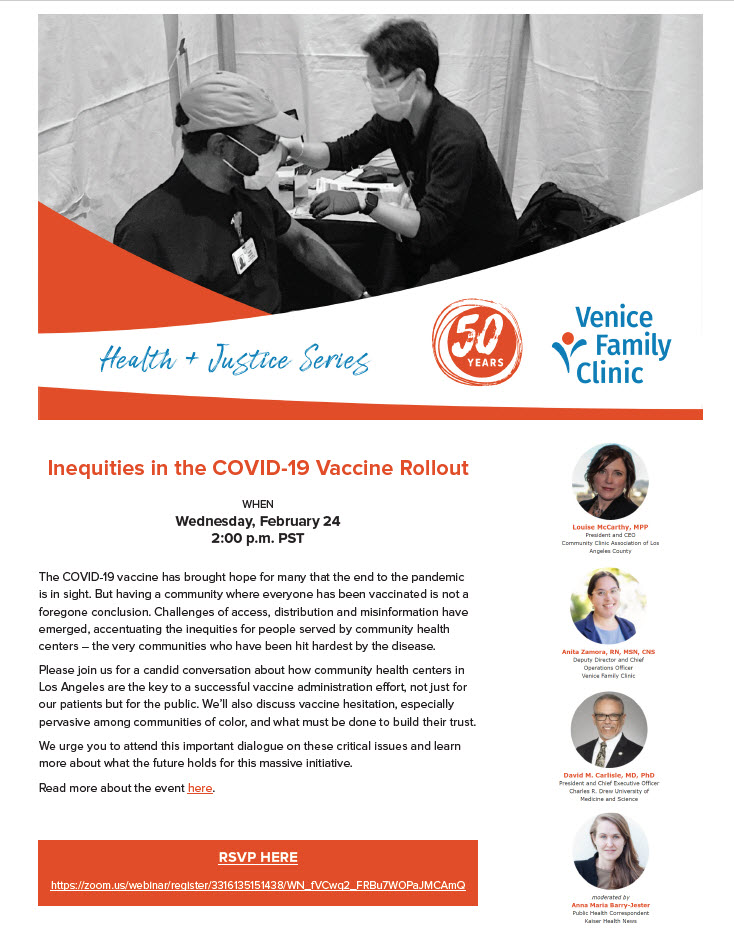 Inequities in the COVID-19 Vaccine Rollout