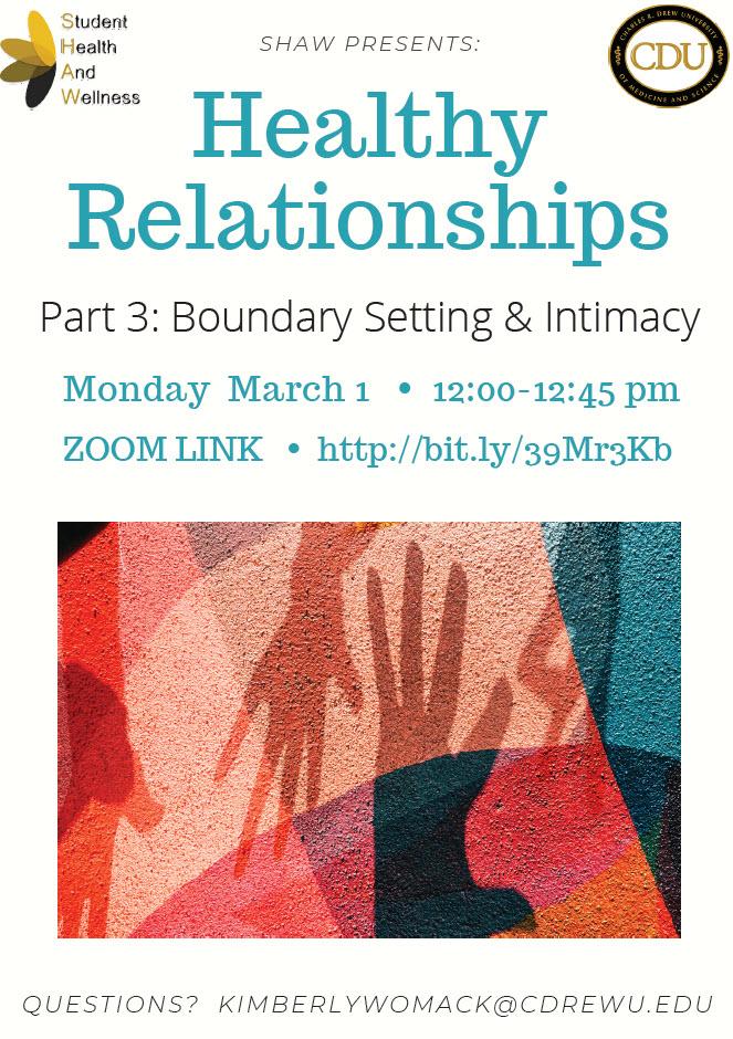 Mối quan hệ lành mạnh Phần 3