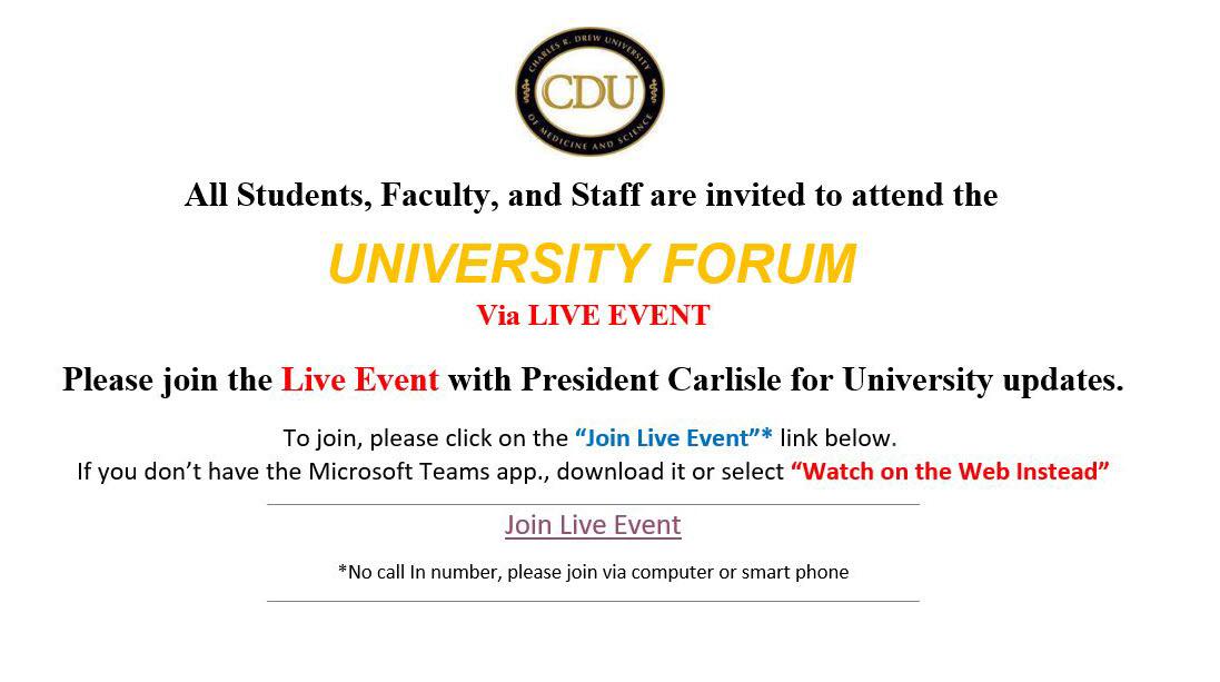 University Forum 3-2